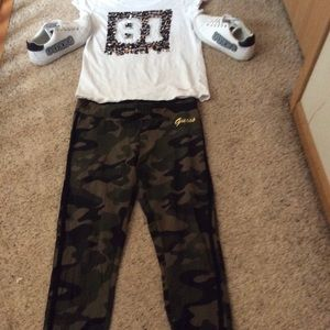Complete authentic guess outfit with shoes